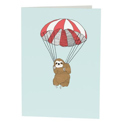 sloth ecards free  open me, Birthday card