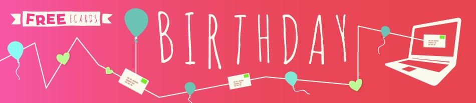 Happy Birthday ECards Free